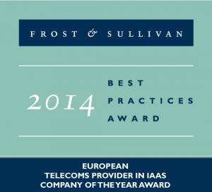 Frost and Sullivan award 2014